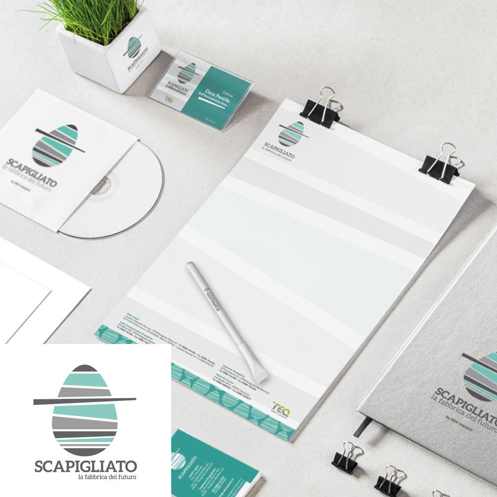 SCAPIGLIATO – corporate identity