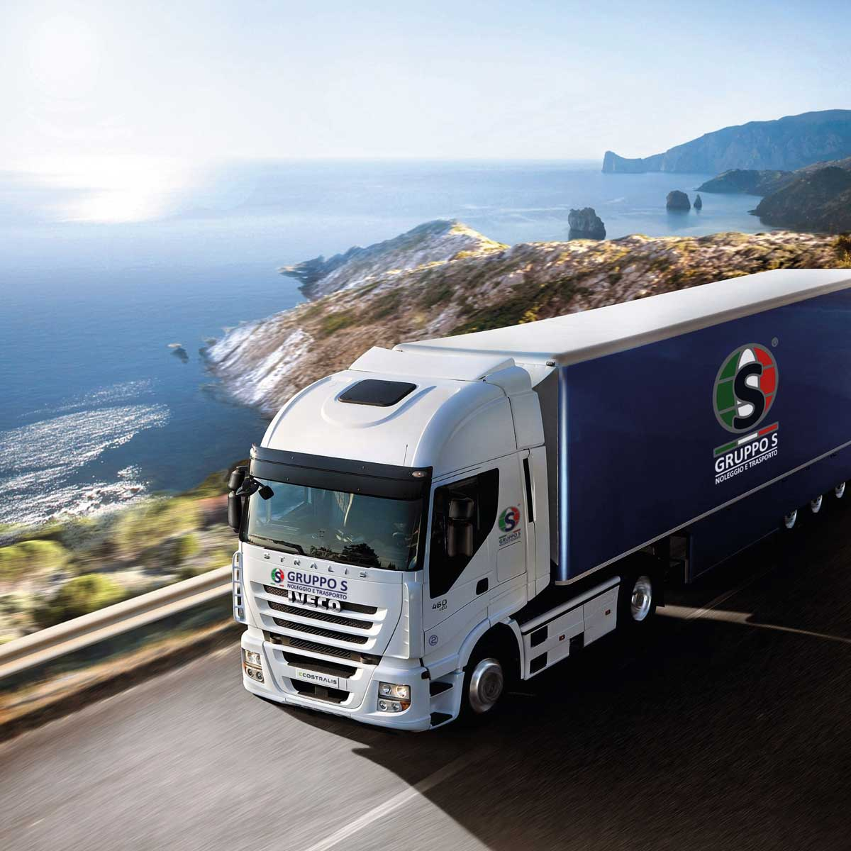 Gruppo S – Camion Stickers