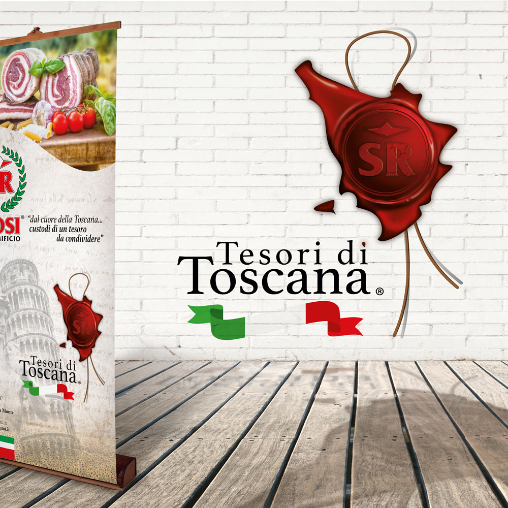 Tesori di Toscana – Roll up